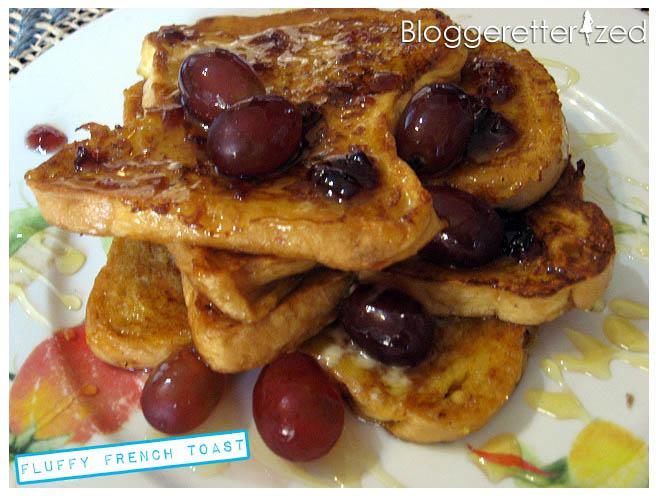 French Toast Sunday (FTS): Fluffy French Toast | Bloggeretterized