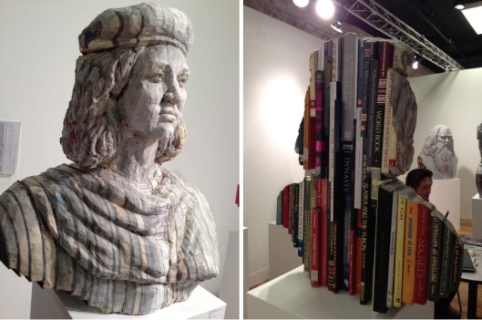Long-Bin Chen Sculpture made from Carved Books 02 Bloggeretterized