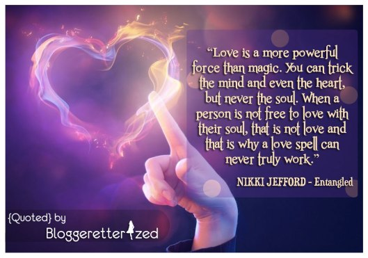 Love is a more powerful force than magic. Love spells never truly work.