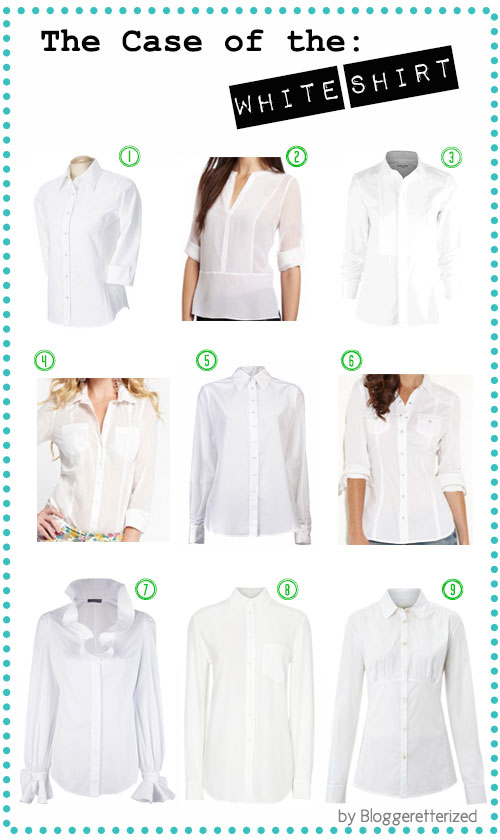 The case of the white shirt