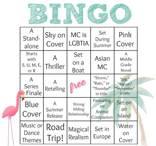 Summer Bookish Bingo 2014