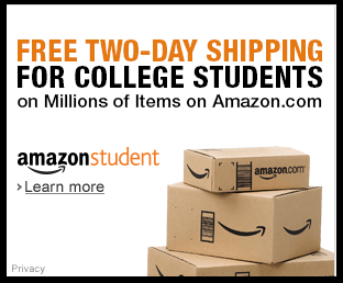 Join Amazon Student FREE Two-Day Shipping for College Students
