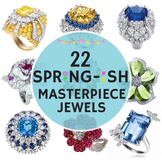 22 SPRING-is Masterpiece Jewels by Bloggeretterized Blog Series