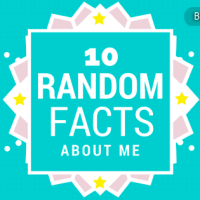 Pieces of Me | 10 Random Facts About Me