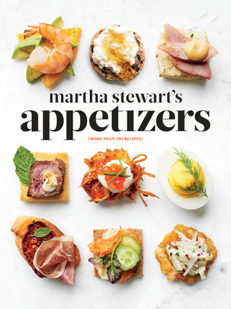 Martha Stewart's Appetizers Book Cover Large