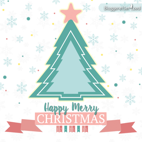 Bloggeretterized |Happy Merry Christmas Card 2015