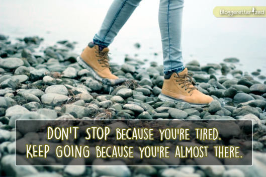 Bloggeretterized | Don't Stop. Keep Going. Wednesday Fuel